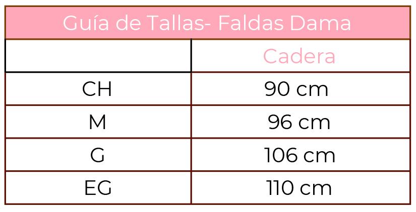 DAyuzo Todo para la Danza Categoría Falda Damas