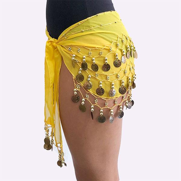 DAyuzo Todo para la Danza Acessorios Falda de monedas FM2