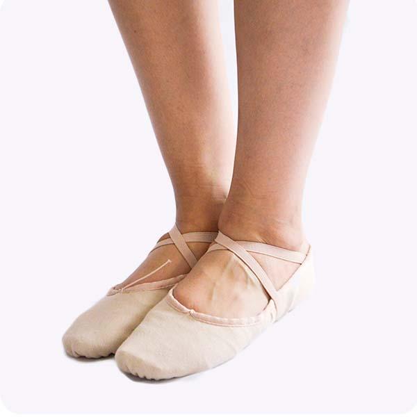 DAyuzo Todo para la Danza Caballero Zapatillas Lona DAyuzo ZL2